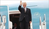 KPV-Generalsekretär Nguyen Phu Trong beginnt den Besuch in Kuba