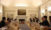 Politische Konsultation und strategischer Dialog zwischen Vietnam und Indien