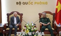 Vizeverteidigungsminister empfängt Exekutivdirektor des Forschungsinstituts für Strategie in Asien