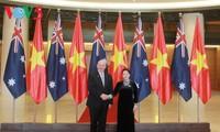 Vietnamesische Parlaments- und Regierungschefs empfangen den australischen Generalgouverneur