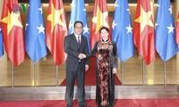 Der mikronesische Parlamentspräsident beendet den Vietnambesuch