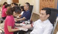 Regierungsbüro führt Programm zum freiwilligen Blutspenden durch