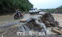 Vaterländische Front Vietnams schickt Mitleidstelegramme an Bewohner in Überschwemmungsgebieten