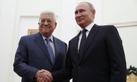 Spitzenpolitiker Russlands und Palästinas diskutieren über die Lage im Nahen Osten