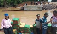 Fortsetzung der Hilfe für Laoten bei der Beseitigung der Dammbruchfolgen