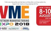"""Unternehmen aus 20 Ländern nehmen an Messe """"Vietnam Manufacturing Expo 2018"""" in Hanoi teil"""