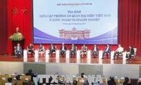 Vietnamesische Diplomatie: aktiv, kreativ, effektiv sein und die Position des Landes verbessern