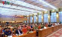 Staatspräsident nimmt an Konferenz über die Kampagne zum  Schutz der Sicherheit des Landes teil