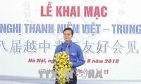 Freundschaftstreffen der Jugendlichen aus Vietnam und China