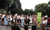Big Band Reißner bringt Volksmusik aus Bayern nach Hanoi