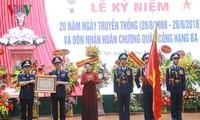 Parlamentspräsidentin nimmt am 20. Jahrestag der vietnamesischen Seepolizei teil