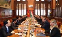 KPV-Generalsekretär Nguyen Phu Trong beendet die Besuche in Russland und Ungarn