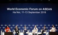 Diskussionen im Rahmen des Weltwirtschaftsforums für ASEAN