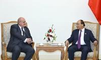 Premierminister Nguyen Xuan Phuc empfängt den brasilianischen Botschafter