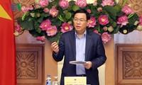 Vizepremierminister Vuong Dinh Hue: Das Wirtschaftswachstum im Jahr 2019 aufrechterhalten