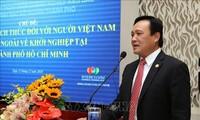 Konferenz zwischen Leitern der Behörden von Ho Chi Minh Stadt mit im Ausland lebenden vietnamesischen Unternehmen