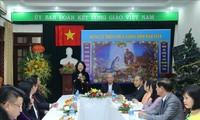 Vizestaatspräsidentin Dang Thi Ngoc Thinh besucht die Kommission für katholische Solidarität