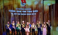 Neun junge vorbildliche Bürger von Ho Chi Minh Stadt werden geehrt