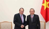 Verstärkung der Zusammenarbeit in der Justizhilfe zwischen Vietnam und Singapur