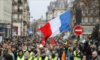 Erneute Gelbwesten-Demonstrationen in Frankreich