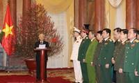 KPV-Generalsekretär Nguyen Phu Trong befördert Polizeiminister To Lam und Generalleutnant Luong Cuong zu Generälen