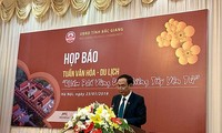 Bereitschaft der Provinz Bac Giang für die Kultur- und Tourismuswoche 2019