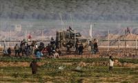 Erneute Gefechte im Gazastreifen
