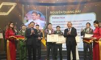 Ehrung der zehn vorbildlichen vietnamesischen Jugendliche 2018