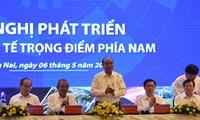 Förderung des Wachstums der Hauptwirtschaftszonen im Süden