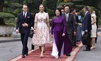 Prinzessin Victoria und Prinz Daniel von Schweden zu Gast in Vietnam