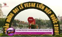 Vietnam ist ein friedlicher Treffpunkt der internationalen religiösen Aktivitäten