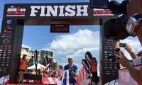 Der Deutsche Patrick Lange gewinnt die asiatisch-pazifische Ironman 70.3-Meisterschaft