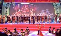 Abschuss des Festtags für Kultur, Sport und Tourismus der Volksgruppen im Grenzgebiet zwischen Vietnam und Laos