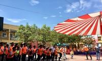 Laufwettbewerb der vietnamesischen Physiotherapie für Gesundheit der Gemeinschaft