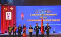 Premierminister Nguyen Xuan Phuc zu Gast bei Feier zum 30. Wiedergründungstag der Provinz Quang Ngai