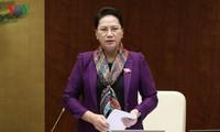 Parlamentspräsidentin Nguyen Thi Kim Ngan besucht China