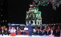"""Kunstprogramm """"Die friedliche Sinfonie"""" von Hanoi"""