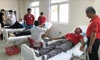 Rote Fahrt 2019: Blutspenden in der Stadt Hue