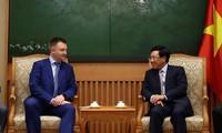 Zusammenarbeit der Jugendlichen aus Vietnam und Russland verstärken