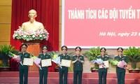 Verteidigungsministerium zeichnet die Mannschaften nach der Teilnahme bei den Army Games 2019 aus
