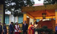 President attends ceremony to tribute ancestors' merits