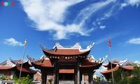 Pagodas on Truong Sa archipelago