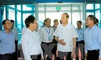 President inspects APEC preparations