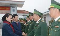 Top legislator pays Tet visit to Ha Giang