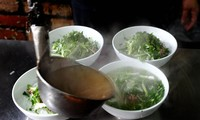 Savoury breakfasts and the iconic bowl of Phở