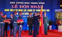 """Region 5's Communications and Education Commission honored as """"Hero of the People's Armed Forces"""""""