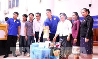 Vietnamese in Laos support dam collapse victims