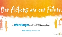 Zero Hunger: Our actions today are our future tomorrow