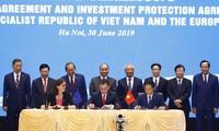 Vietnam, EU sign free trade deal