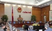 นายกฯ Nguyen Tan Dung ให้การต้อนรับบรรดาเอกอัครราชทูตและหัวหน้าสำนักงานตัวแทนเวียดนามในต่างประเทศ